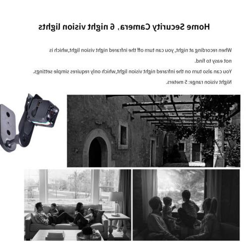 Mini Camera Night Vision Detection/Take