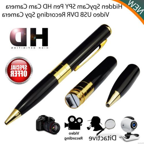 New Mini SPY Pen HD Cam Hidden Camera 32GB Video USB DVR Rec