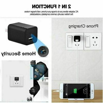 NEW Mini Motion Hidden Charger US FULL HD Cam