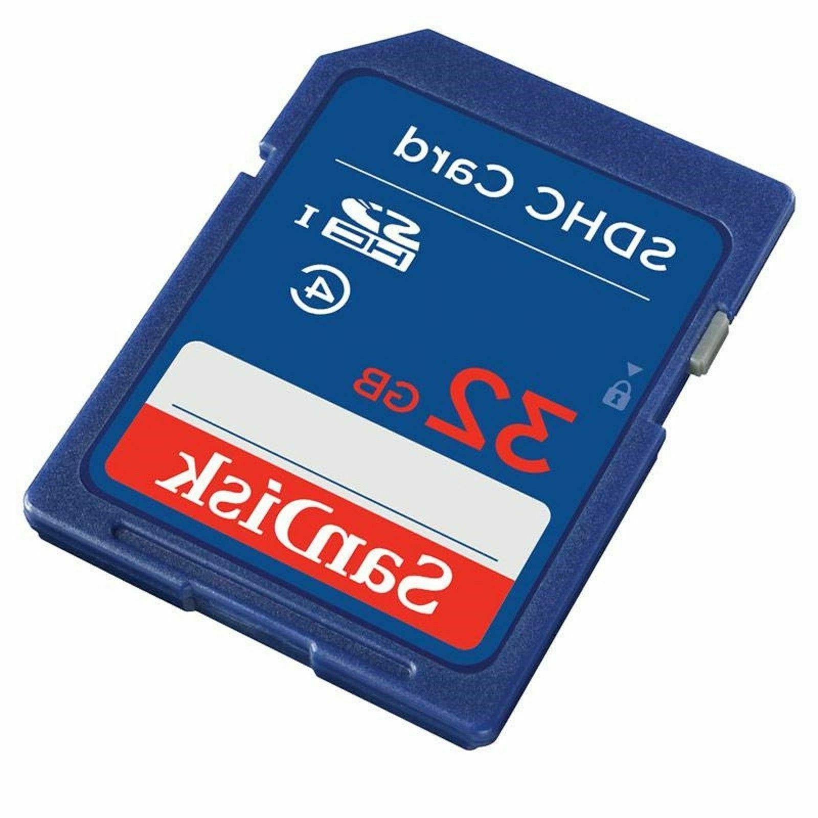 new 32gb sd card sdhc hd memory