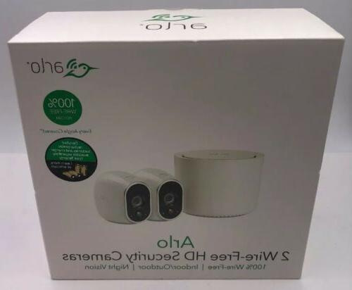 NEW Arlo VMS3230 1280 Security System with Cameras White