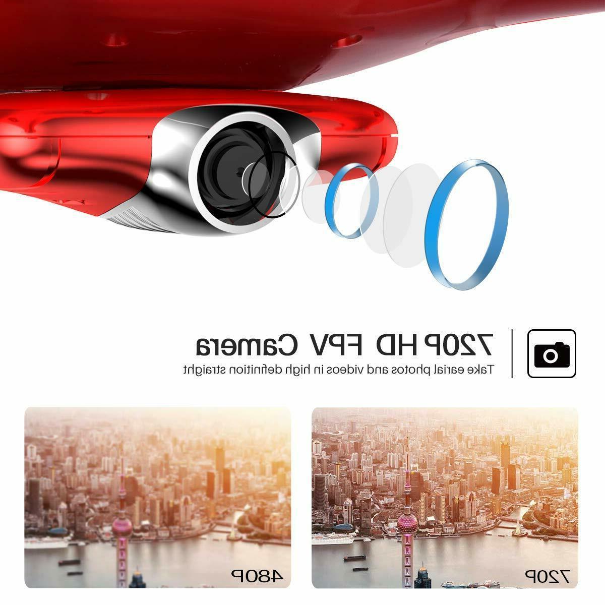 Original X5UW FPV HD Camera Headless Set U2C9