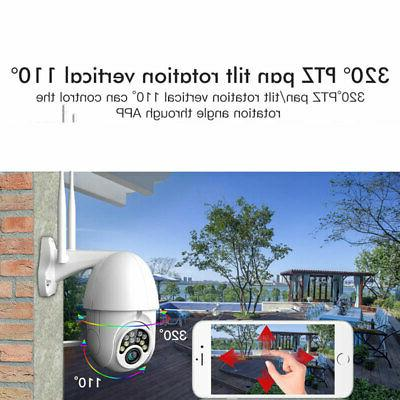 Outdoor Waterproof WiFi 1080P HD Wireless CCTV Camera US