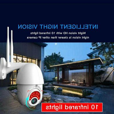 Outdoor WiFi 1080P Security Wireless IR Camera US