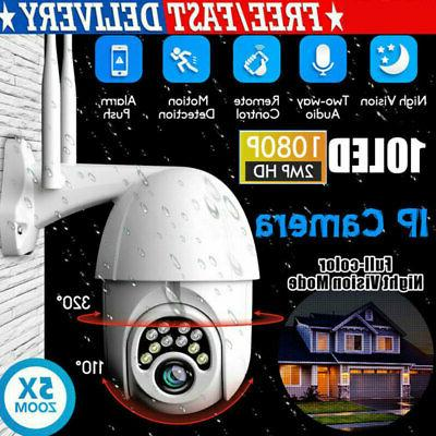 outdoor waterproof wifi ptz 1080p hd home