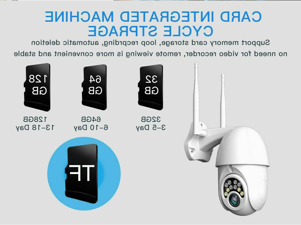 US 1080P HD CCTV Camera WiFi IR Cam