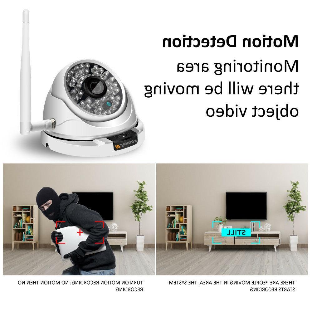 1080P Home Cameras Wireless Surveillance CCTV WiFi