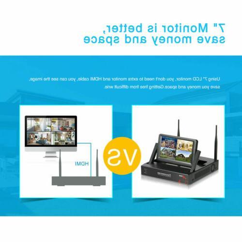 ANRAN Wireless WiFi Camera CCTV 1080P HD