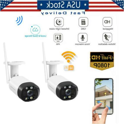 outdoor wireless wifi security ip camera 1080p