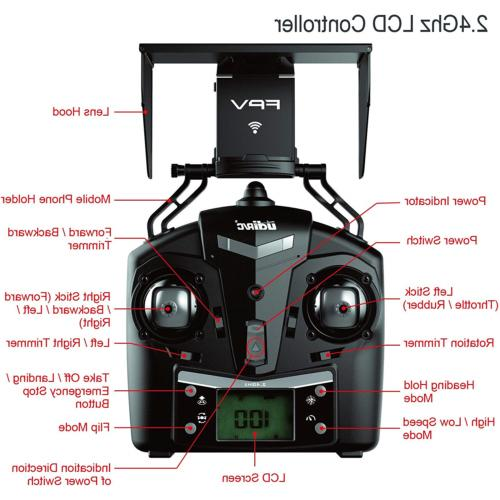 Cheerwing Petrel U42W Wifi FPV 2.4Ghz RC Quadcopter with HD Camera Flight