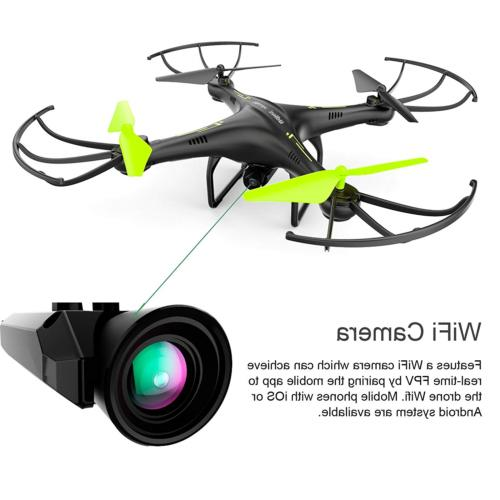 Cheerwing Petrel FPV RC Quadcopter with HD Flight