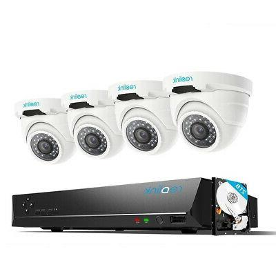poe security system 8ch nvr