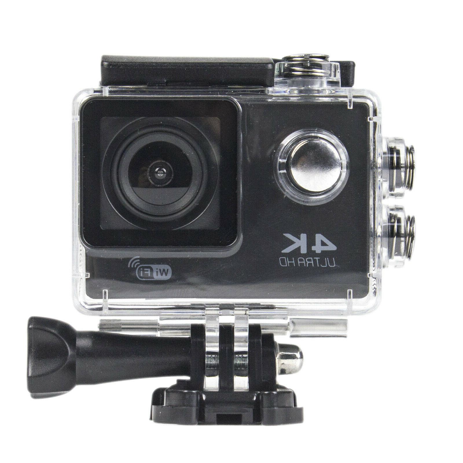 Pro 4K WiFi Camcorder HD Camera Waterproof