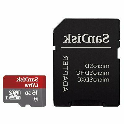 Professional Ultra SanDisk MicroSDHC Card GPS Camera