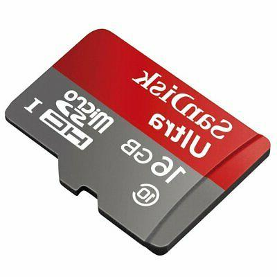 professional ultra 16gb microsdhc card for contour