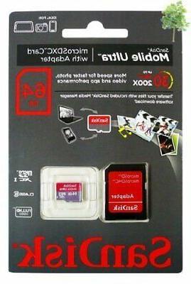 Professional Ultra SanDisk 64GB Virb HD i