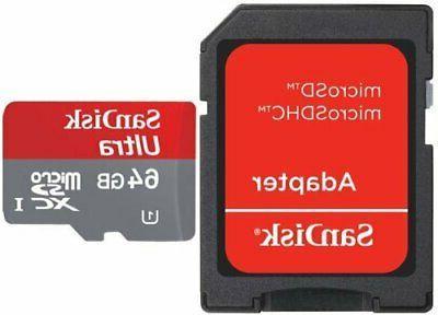 Professional Ultra SanDisk 64GB MicroSDXC Virb i