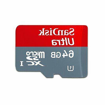 Professional Ultra SanDisk MicroSDXC Card Garmin Virb Elite HD Camera i