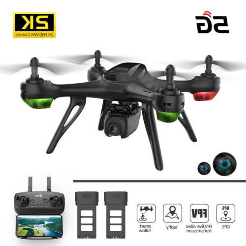 rc drones gps fpv drone 2k hd