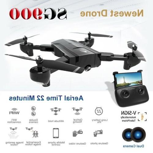 RC Foldable Drone Quadcopter with Hd Gesture Photo