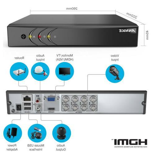 ANNKE Security IR 8CH H.264+ Cloud Storage