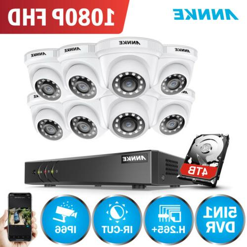 real 3mp video security camera system 8ch