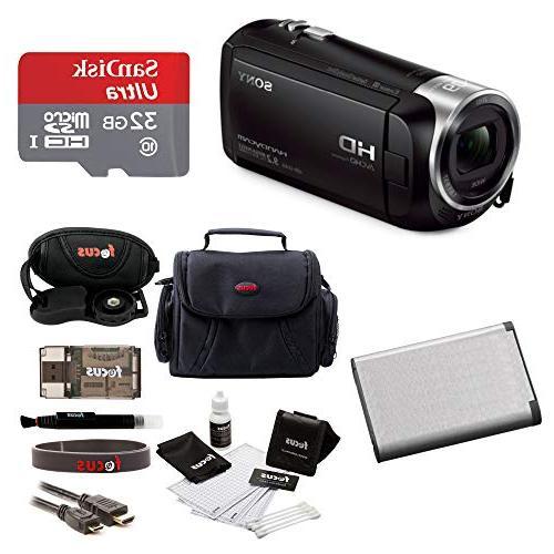 recording hdrcx405 handycam camcorder