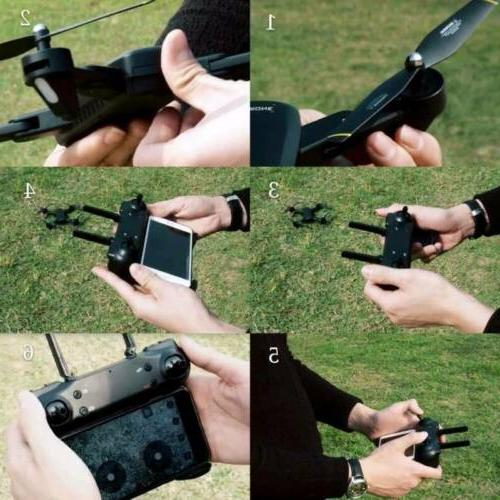 Cooligg FPV Optical Selfie HD Drone Toy