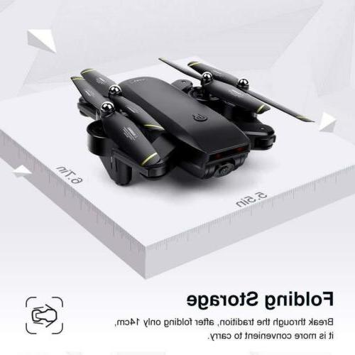 Cooligg FPV Optical Flow Selfie HD RC Drone Toy