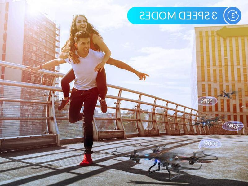 Snaptain Wifi Drone With Camera,Voice Control, V