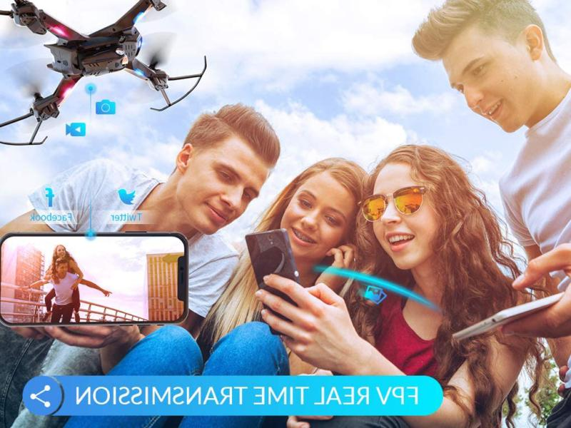 Snaptain Drone 720P Camera,Voice Wide-Angle V