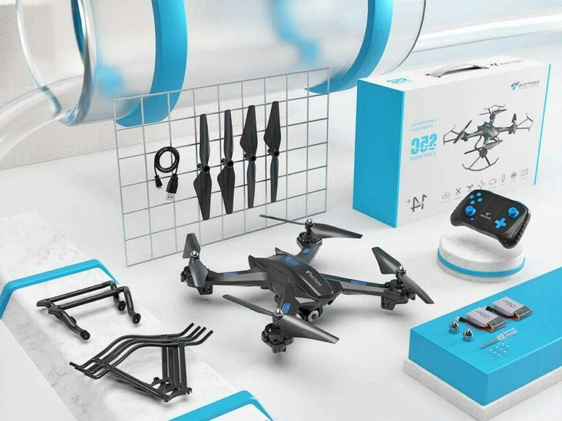 Snaptain S5C Drone Camera, Gesture