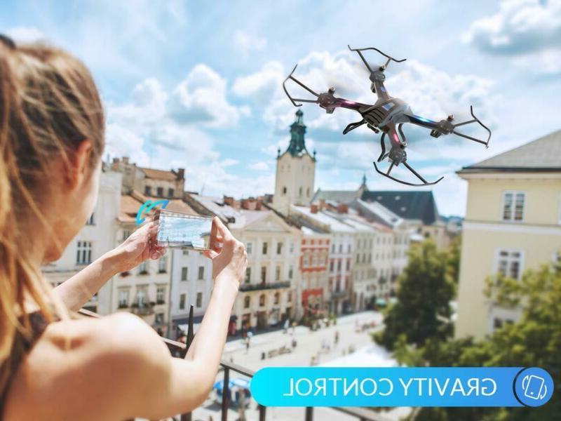 Snaptain S5C Wifi Fpv Drone 720P Camera, Voice Control