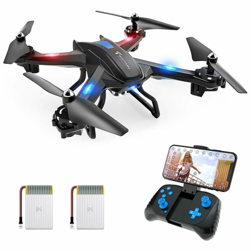 Snaptain Fpv Drone With Camera, Voice Control, Control