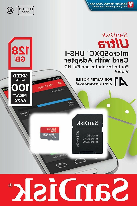 SanDisk UHS-I card Adapter - - SDSQUAR-128G-GN6MA