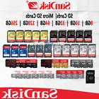 Sandisk SD Card 8/16/32/64/128 GB Micro SD Memory Adapter Re