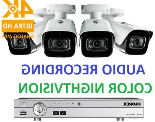 security 4k hd surveillance system 4 mpx