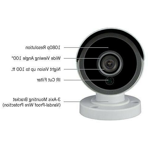 Security HD Wired Owl 2 Add–On 1080p