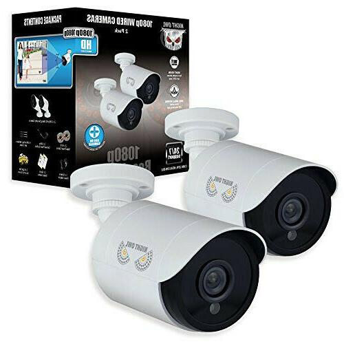 Security Bullet Surveillance HD Night Owl 2 Pack Add–On 1080p