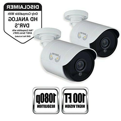 security bullet surveillance cameras hd wired 2