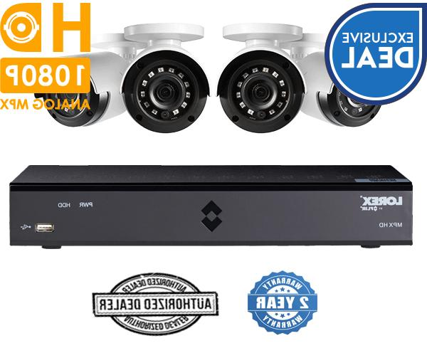 Lorex Security SURVEILLANCE 4 Channel 1080p HD DVR 1TB 1080p