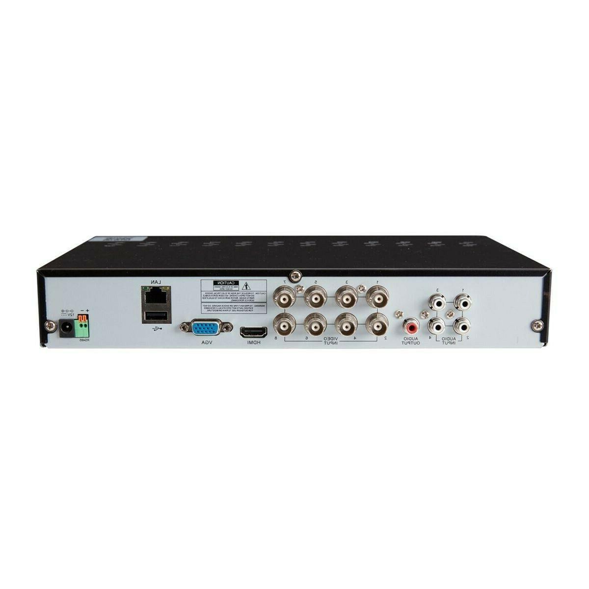 Sercurity 8 Channel Surveillance DVR HD &