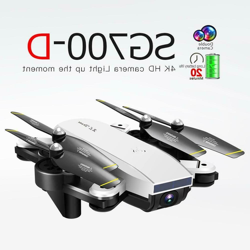 SG700-D RC HD FPV Dual Optical Flow Quadcopter 3 Battery
