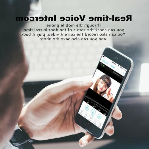 Smart WiFi Doorbell HD Camera IR Visual Video Intercom Security