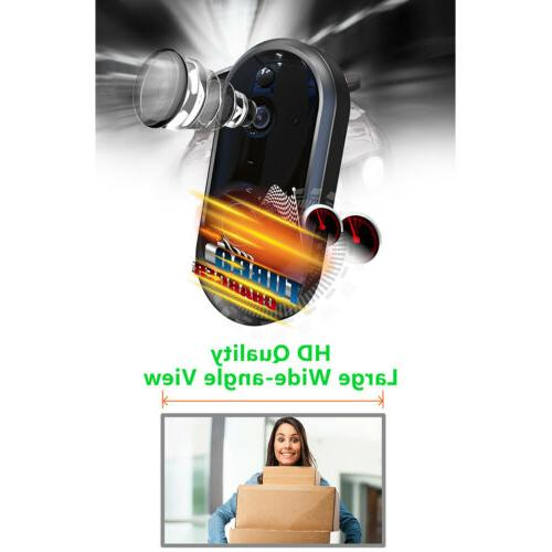 Smart WiFi Doorbell HD Camera Video Phone Security