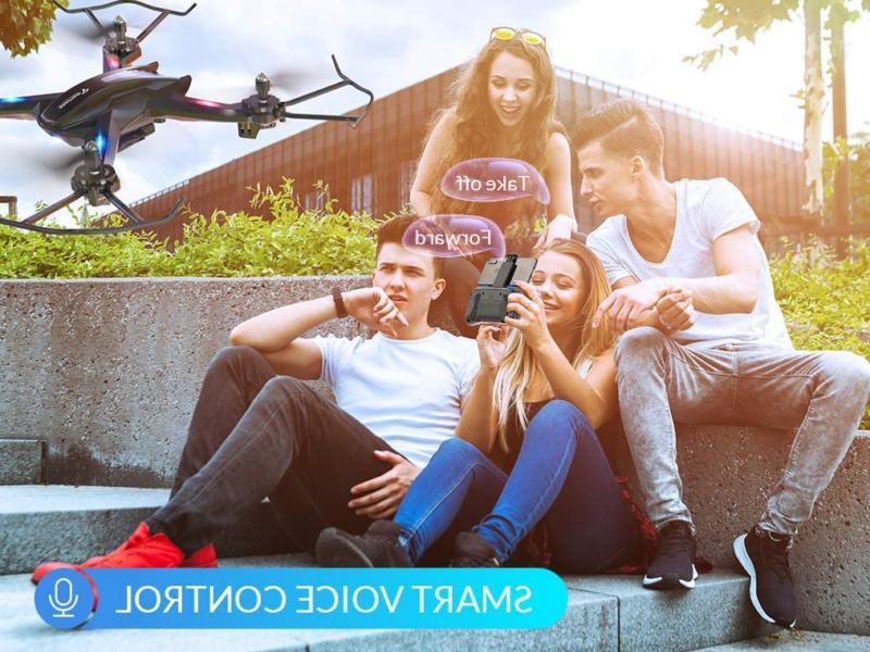 Snaptain S5C Wifi Fpv Drone Camera,Voice Wide-Angle V