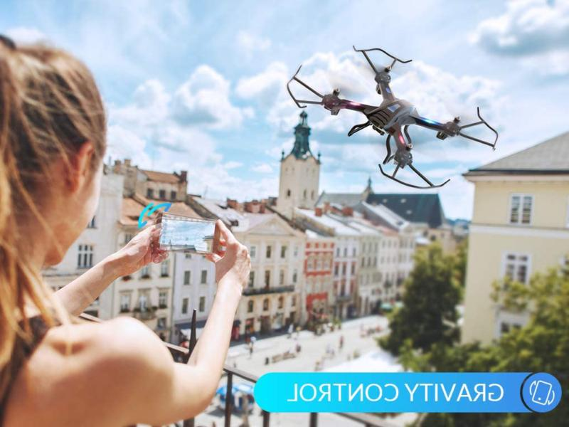 Snaptain S5C Wifi Drone With Camera,Voice V