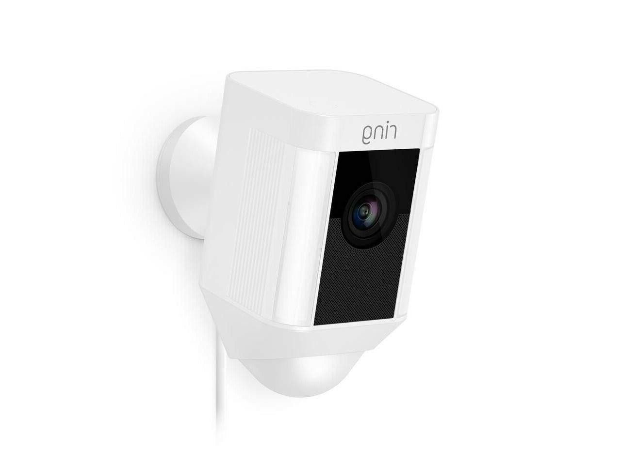 Ring Spotlight Cam WIRED Security NEW