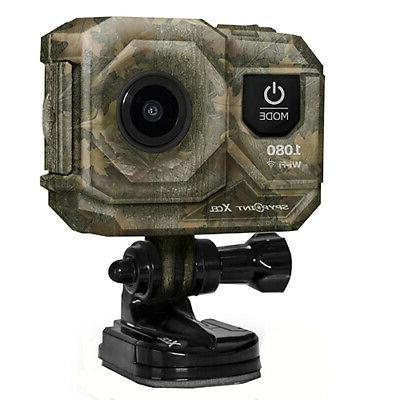 Spy Point XCEL 1080 Hunt Action Cam; Camo