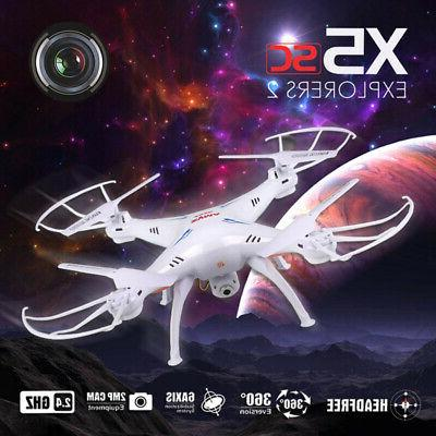 Syma RC Quadcopter UAV RTF UFO HD Camera